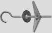 Анкер пружинный с крюком